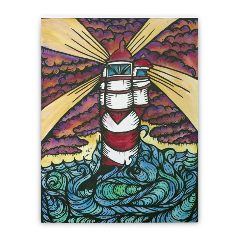 Light house  Home Stretched Canvas by kimkirch's Artist Shop