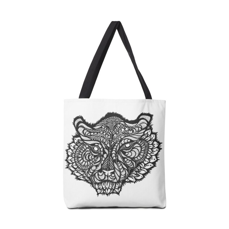 Tiger Tiger Accessories Tote Bag Bag by kimkirch's Artist Shop