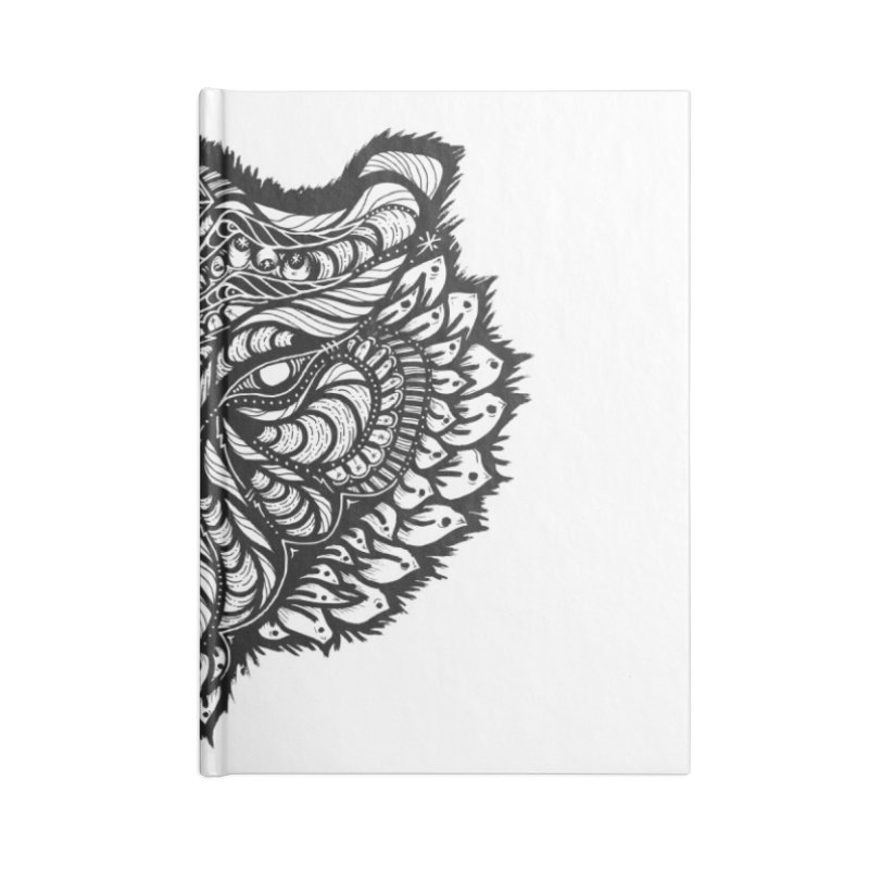Tiger Tiger Accessories Notebook by kimkirch's Artist Shop