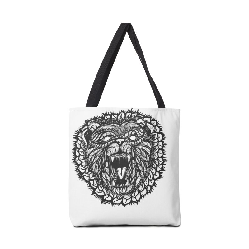 Bear Accessories Tote Bag Bag by kimkirch's Artist Shop