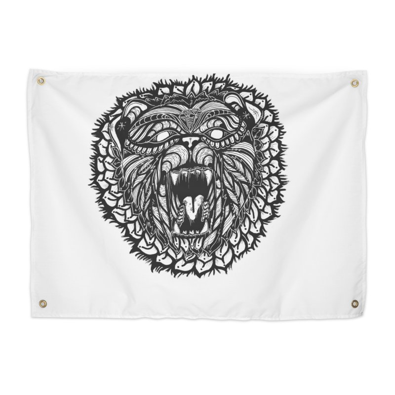 Bear Home Tapestry by kimkirch's Artist Shop