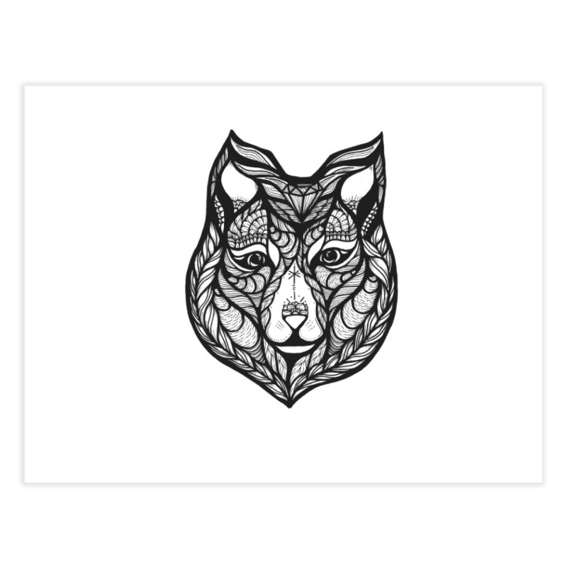 Wolf Home Fine Art Print by kimkirch's Artist Shop