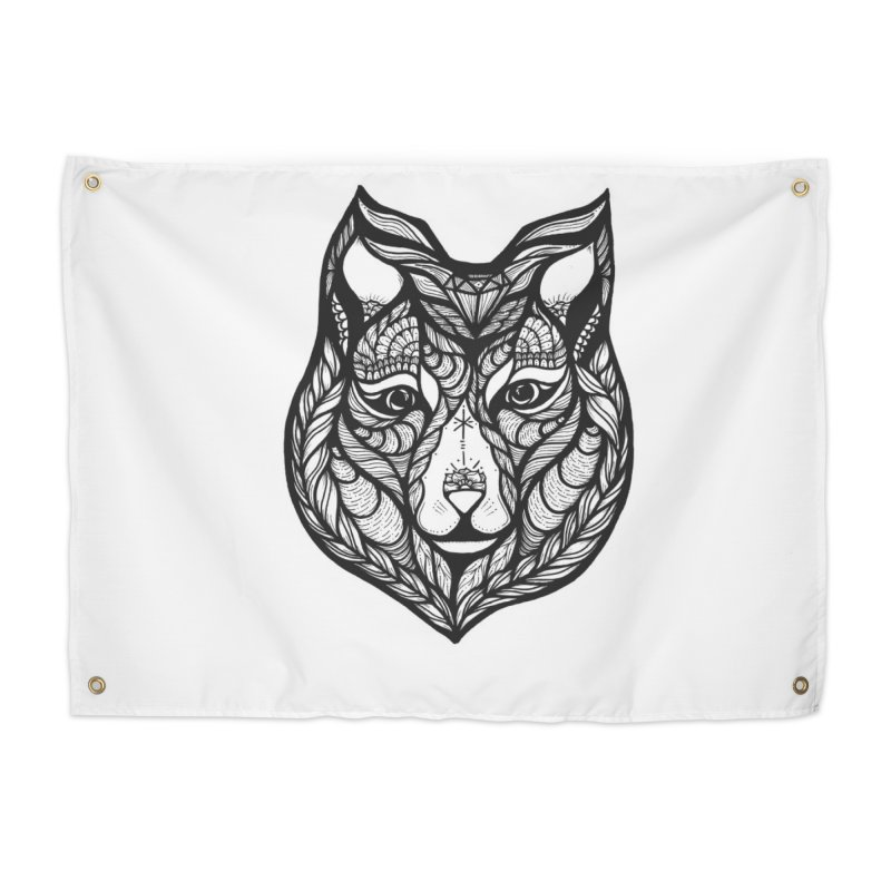 Wolf Home Tapestry by kimkirch's Artist Shop