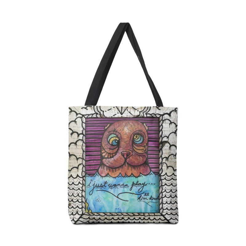 Sea Bear Accessories Tote Bag Bag by kimkirch's Artist Shop