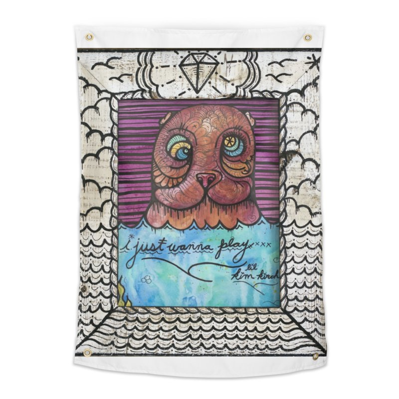 Sea Bear Home Tapestry by kimkirch's Artist Shop