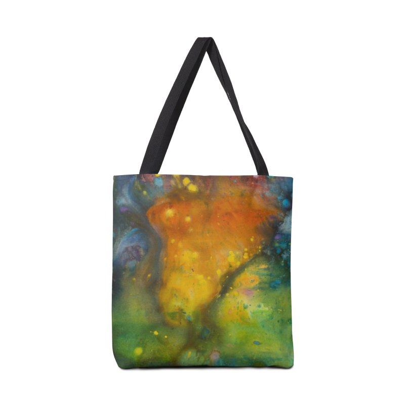 Cosmic Color Accessories Tote Bag Bag by kimkirch's Artist Shop