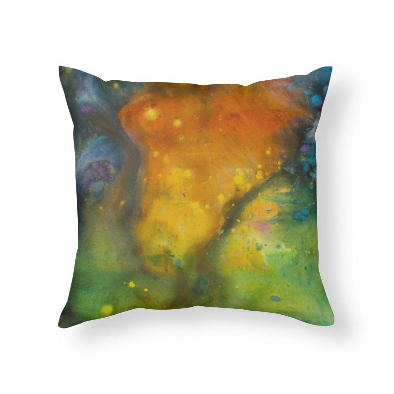 Cosmic Color Home Throw Pillow by kimkirch's Artist Shop