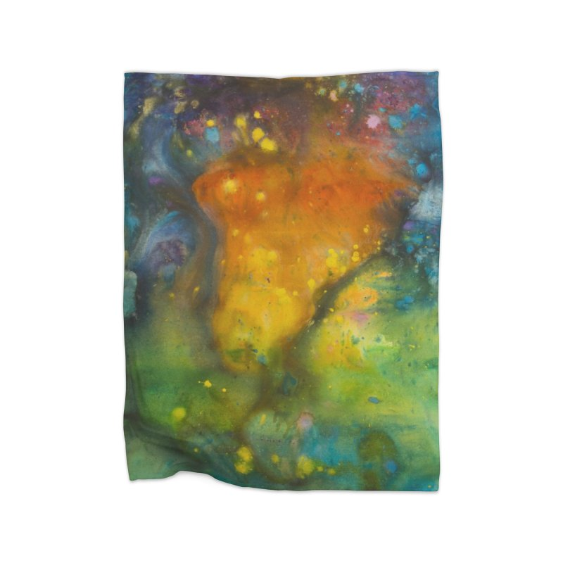 Cosmic Color Home Blanket by kimkirch's Artist Shop