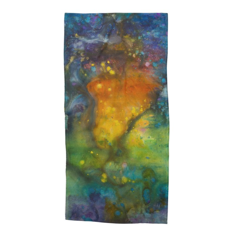 Cosmic Color Accessories Beach Towel by kimkirch's Artist Shop