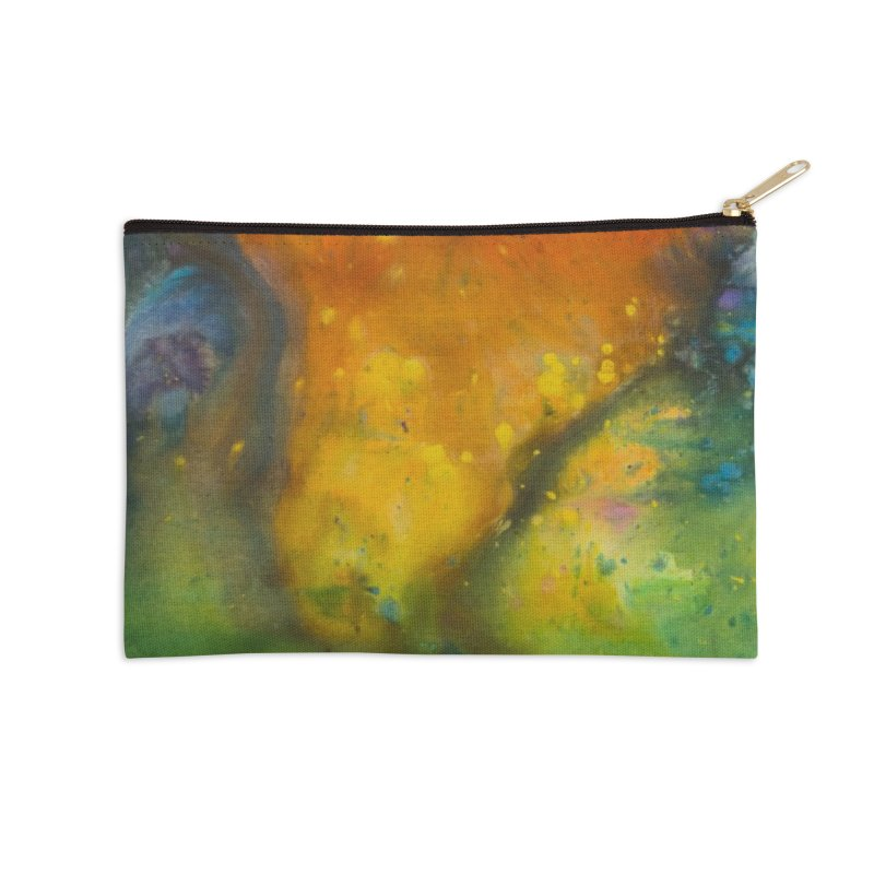 Cosmic Color Accessories Zip Pouch by kimkirch's Artist Shop