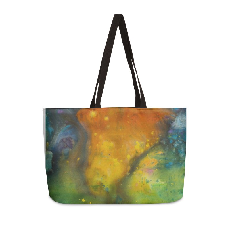 Cosmic Color Accessories Bag by kimkirch's Artist Shop