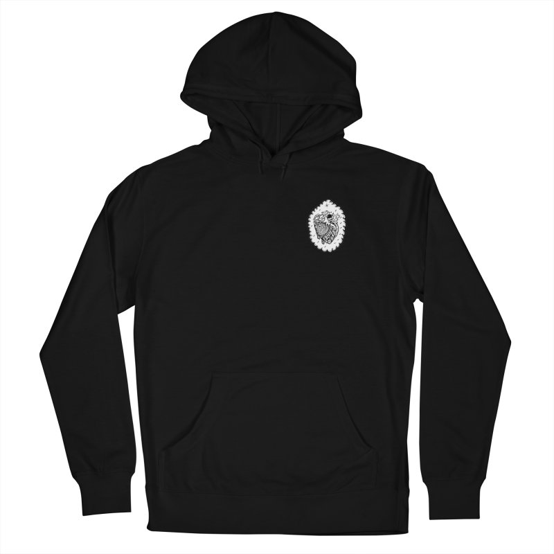 shred heart Men's French Terry Pullover Hoody by kimkirch's Artist Shop