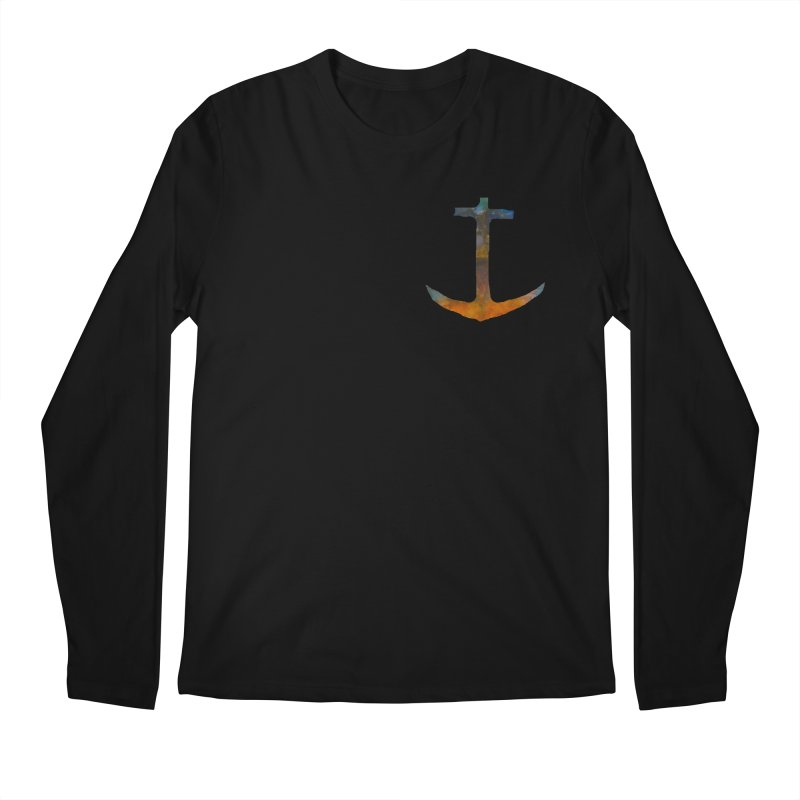 anchor Men's Regular Longsleeve T-Shirt by kimkirch's Artist Shop