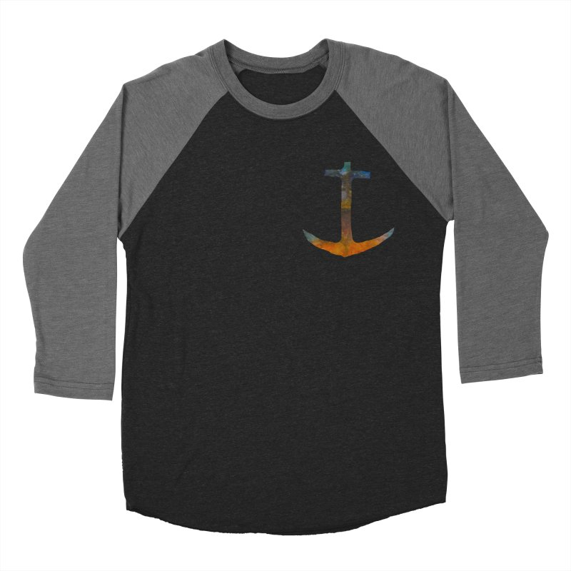 anchor Men's Baseball Triblend Longsleeve T-Shirt by kimkirch's Artist Shop