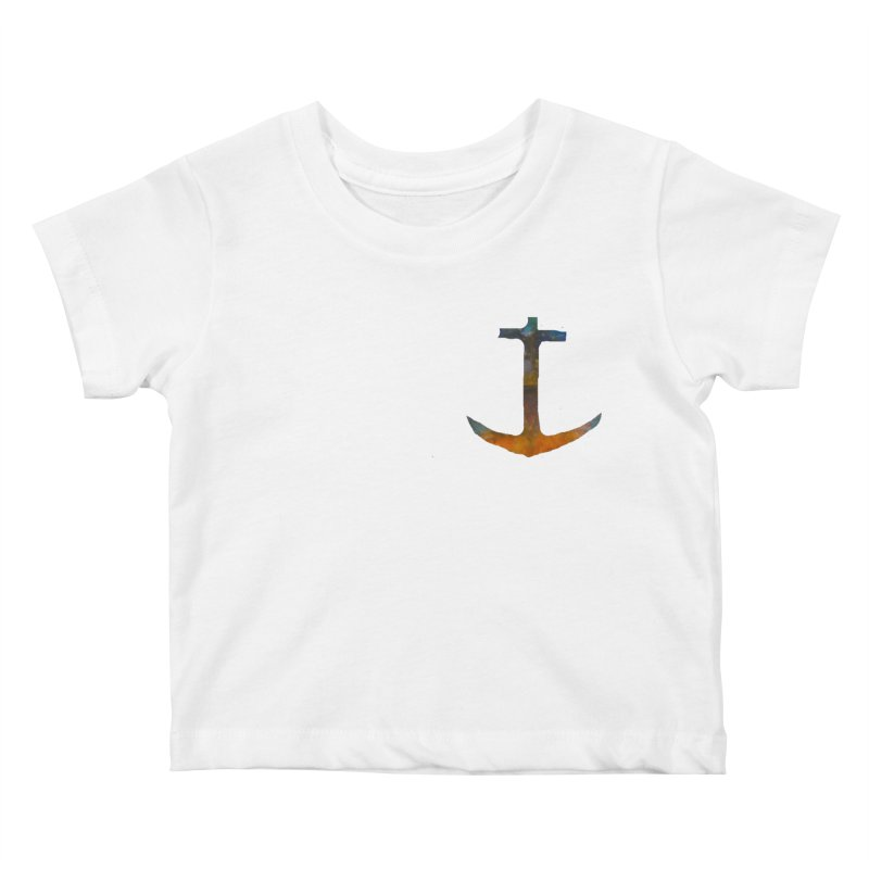 anchor Kids Baby T-Shirt by kimkirch's Artist Shop