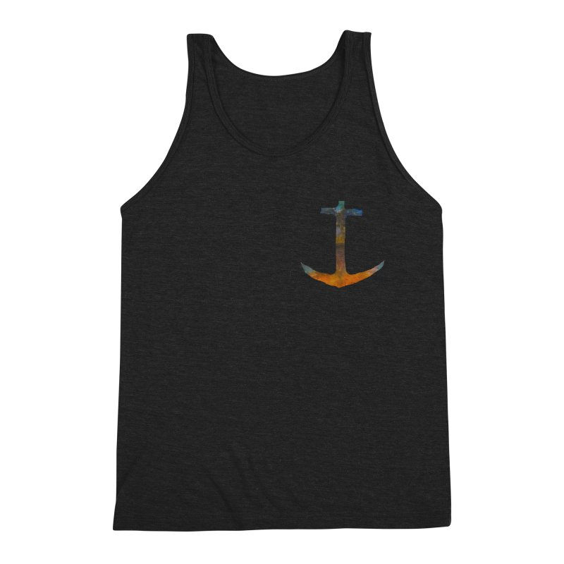anchor Men's Triblend Tank by kimkirch's Artist Shop
