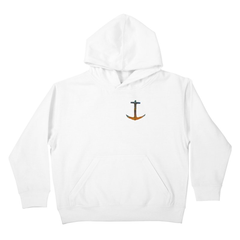 anchor Kids Pullover Hoody by kimkirch's Artist Shop