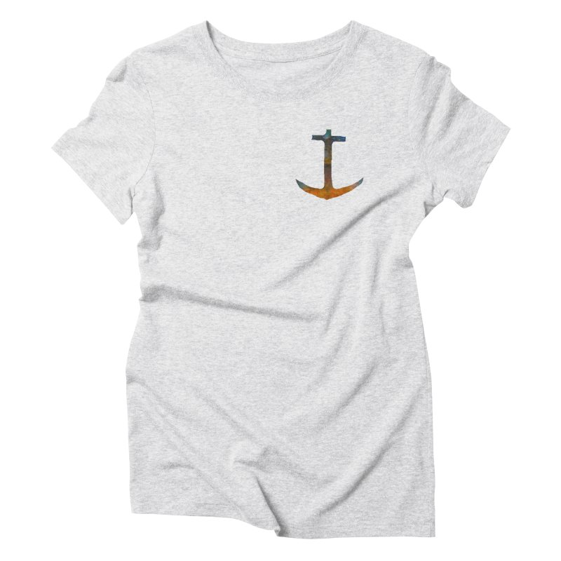anchor Women's Triblend T-Shirt by kimkirch's Artist Shop