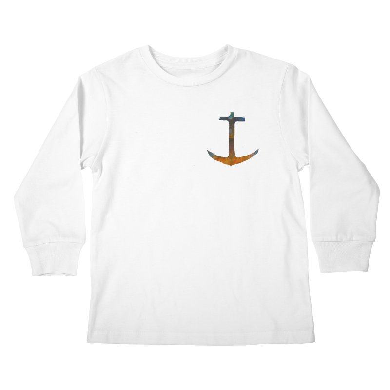 anchor Kids Longsleeve T-Shirt by kimkirch's Artist Shop
