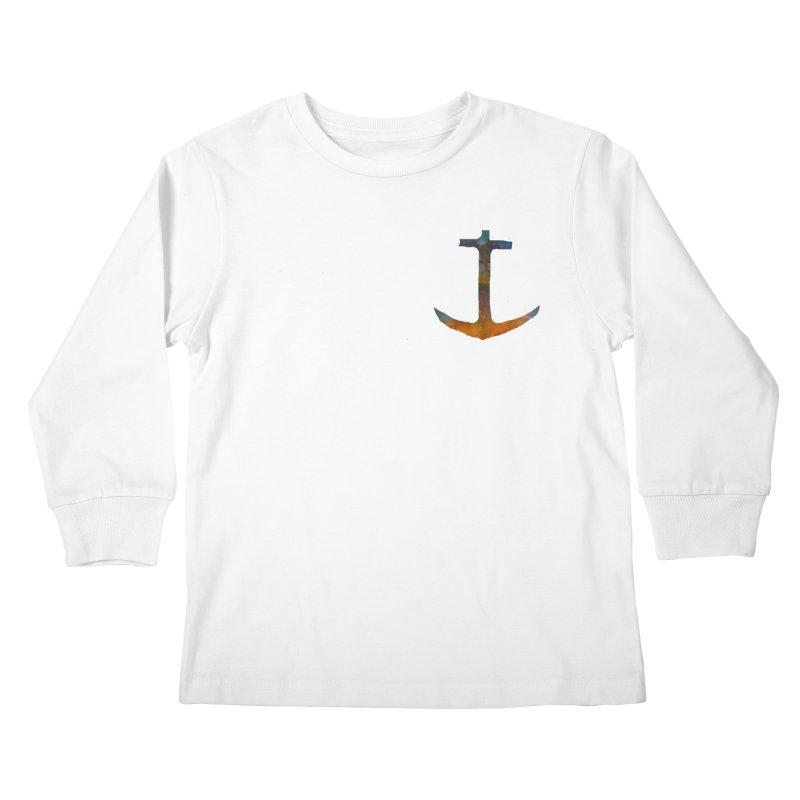 anchor Kids Longsleeve T-Shirt by kimkirch's Artist Shop
