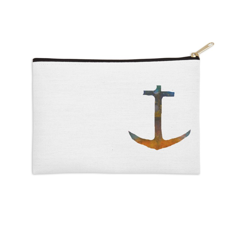 anchor Accessories Zip Pouch by kimkirch's Artist Shop