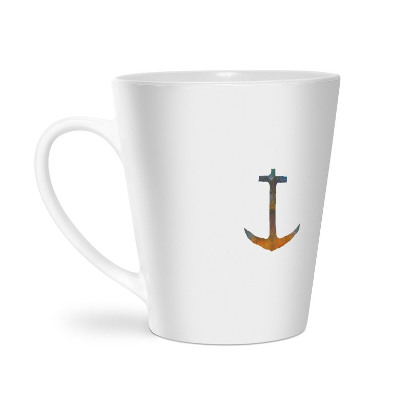 anchor Accessories Latte Mug by kimkirch's Artist Shop