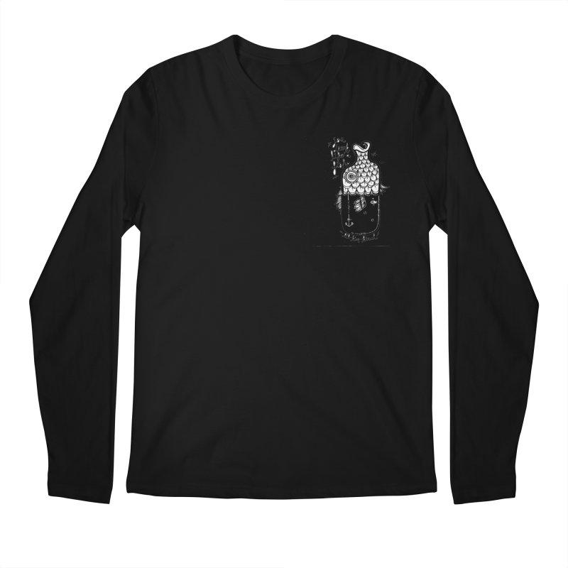 you drink like a fish Men's Longsleeve T-Shirt by kimkirch's Artist Shop