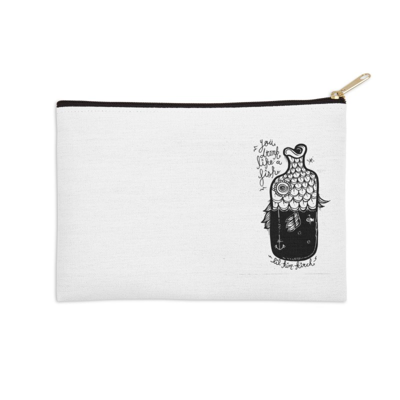 you drink like a fish Accessories Zip Pouch by kimkirch's Artist Shop