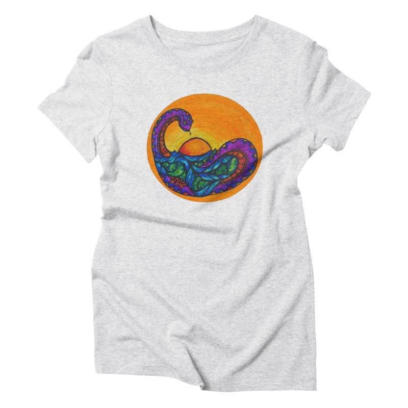 Puerto Women's Triblend T-Shirt by kimkirch's Artist Shop