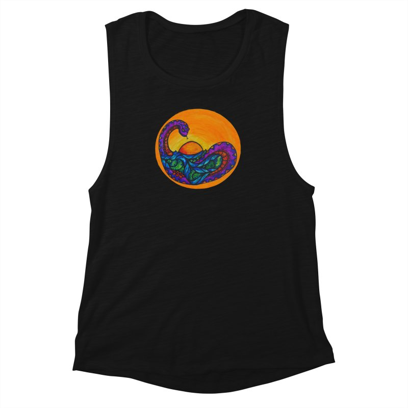 Puerto Women's Muscle Tank by kimkirch's Artist Shop