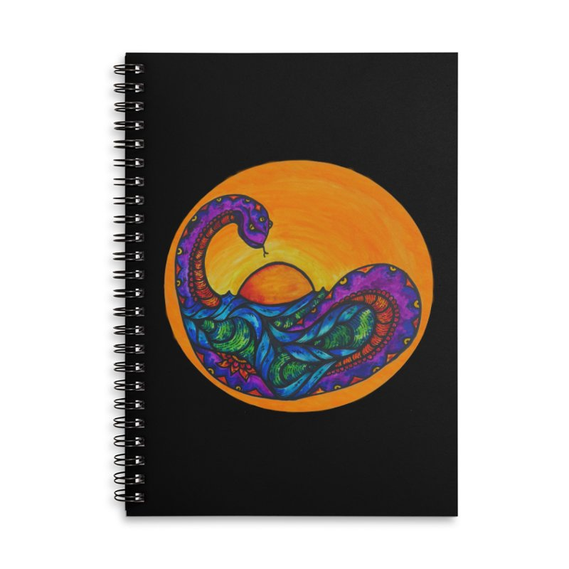 Puerto Accessories Lined Spiral Notebook by kimkirch's Artist Shop
