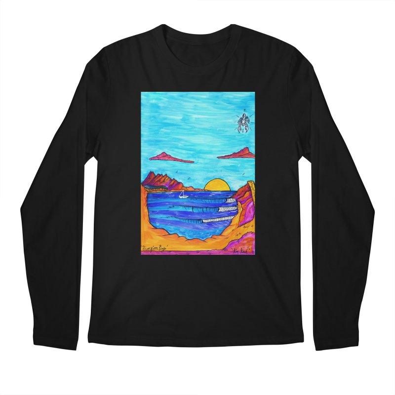 Scorpion Bay Men's Longsleeve T-Shirt by kimkirch's Artist Shop
