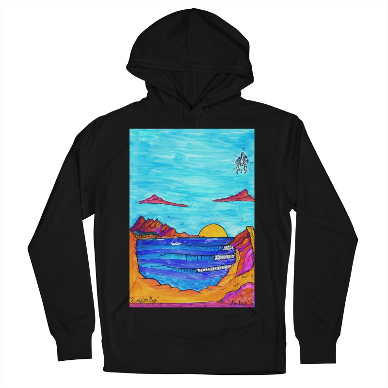 Scorpion Bay Men's French Terry Pullover Hoody by kimkirch's Artist Shop