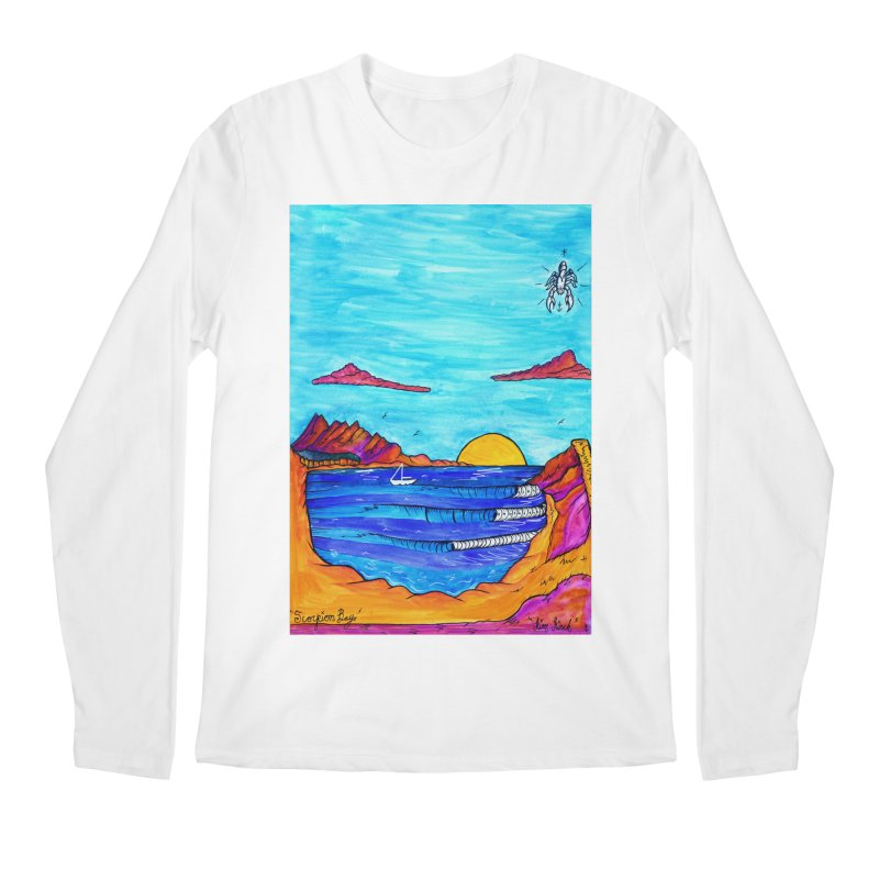 Scorpion Bay Men's Regular Longsleeve T-Shirt by kimkirch's Artist Shop