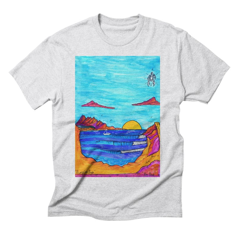 Scorpion Bay Men's Triblend T-Shirt by kimkirch's Artist Shop