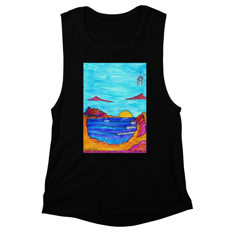 Scorpion Bay Women's Tank by kimkirch's Artist Shop