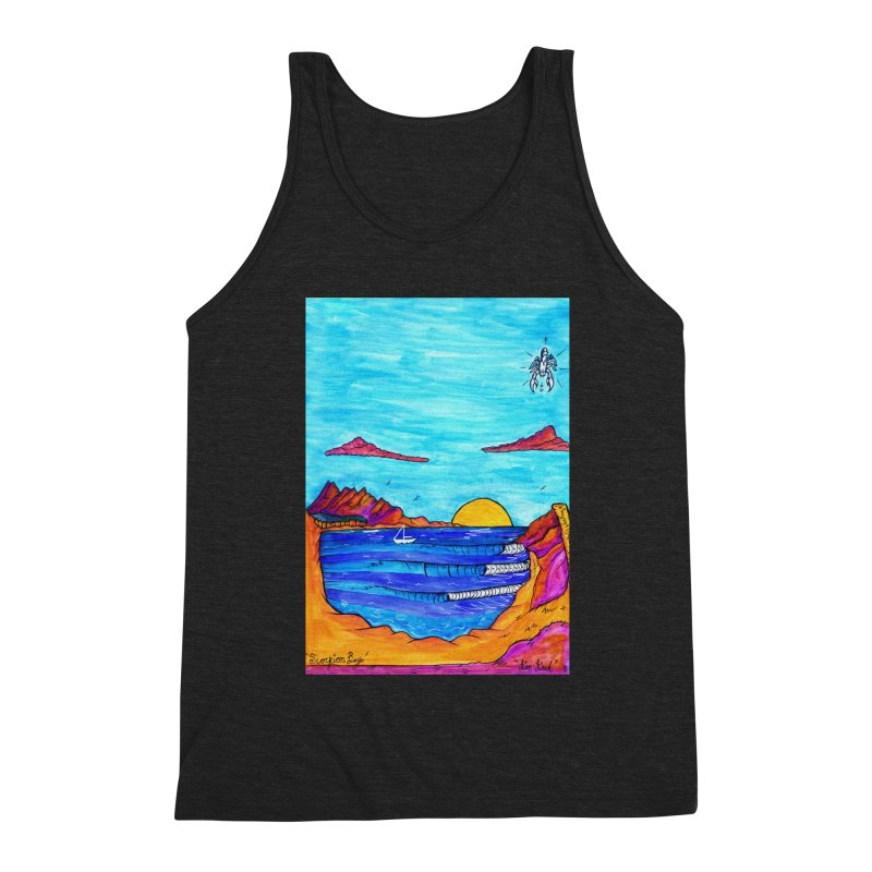 Scorpion Bay Men's Triblend Tank by kimkirch's Artist Shop