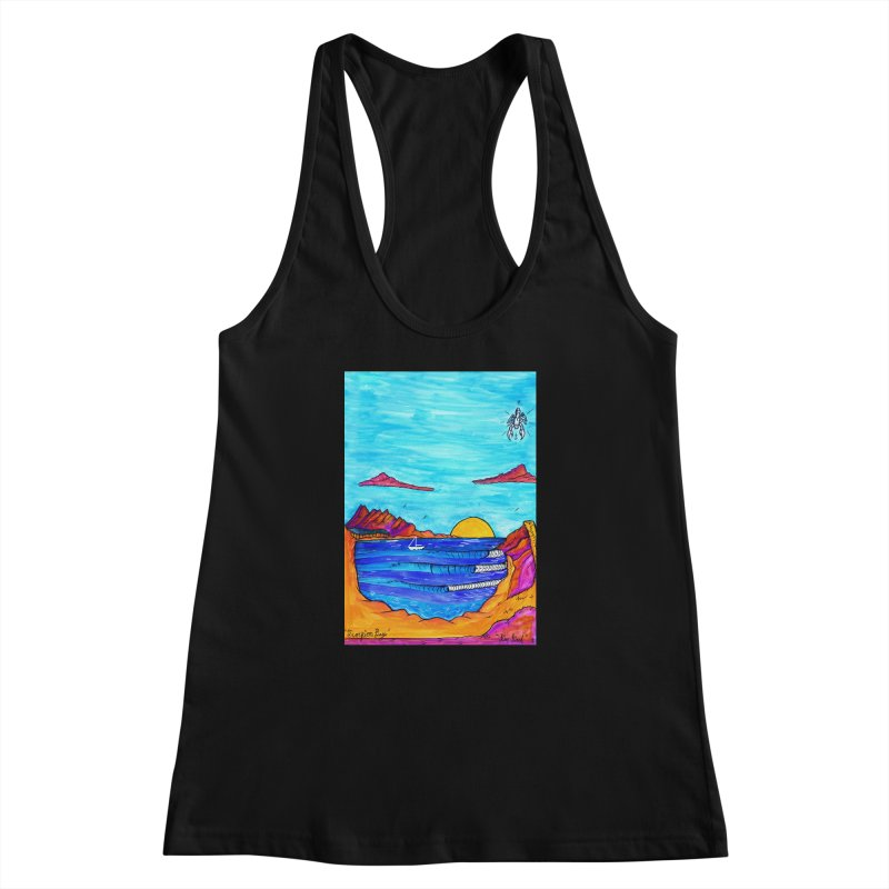 Scorpion Bay Women's Racerback Tank by kimkirch's Artist Shop