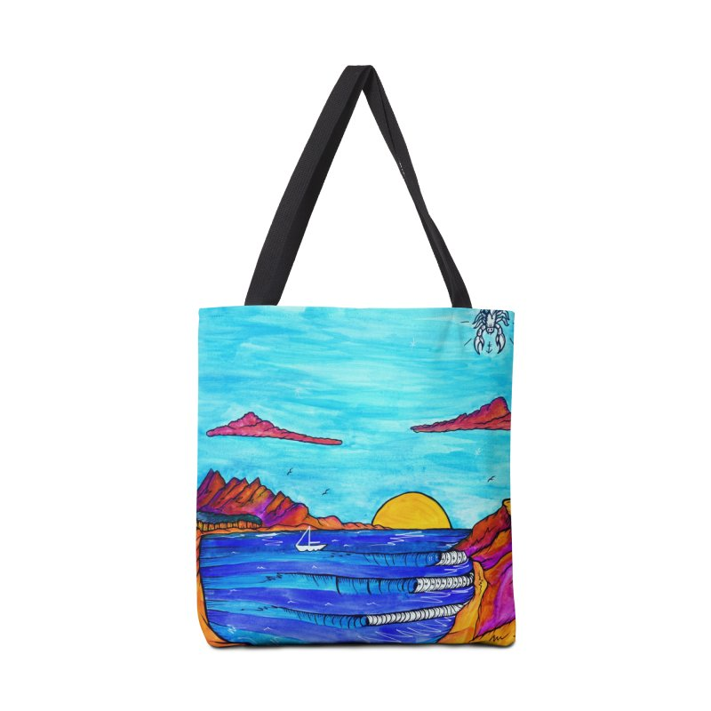 Scorpion Bay Accessories Tote Bag Bag by kimkirch's Artist Shop
