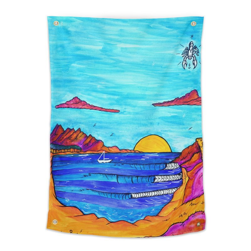 Scorpion Bay Home Tapestry by kimkirch's Artist Shop