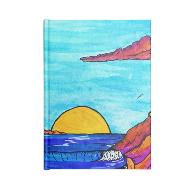 Scorpion Bay Accessories Lined Journal Notebook by kimkirch's Artist Shop