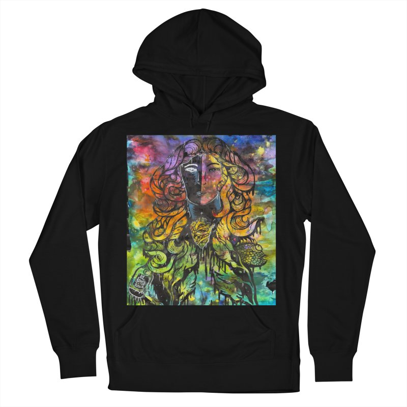 lady Men's French Terry Pullover Hoody by kimkirch's Artist Shop