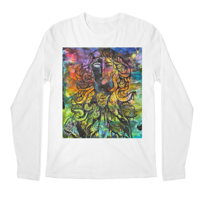 lady Men's Regular Longsleeve T-Shirt by kimkirch's Artist Shop