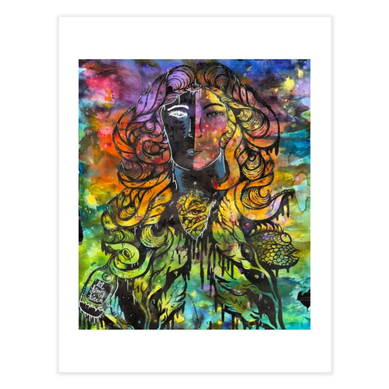 lady Home Fine Art Print by kimkirch's Artist Shop