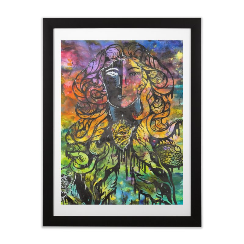 lady Home Framed Fine Art Print by kimkirch's Artist Shop