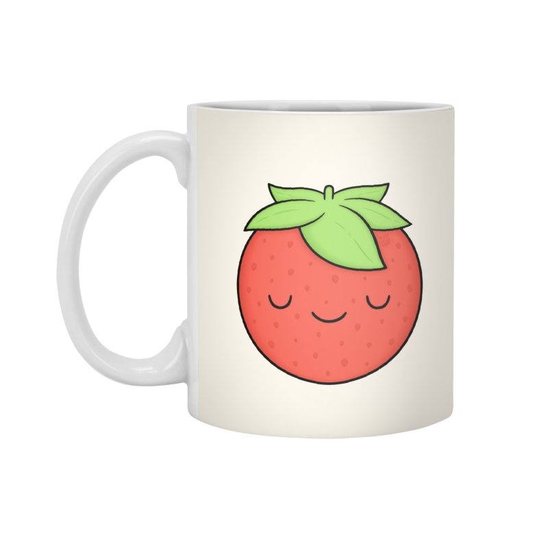 Strawberry Accessories Standard Mug by Kim Vervuurt