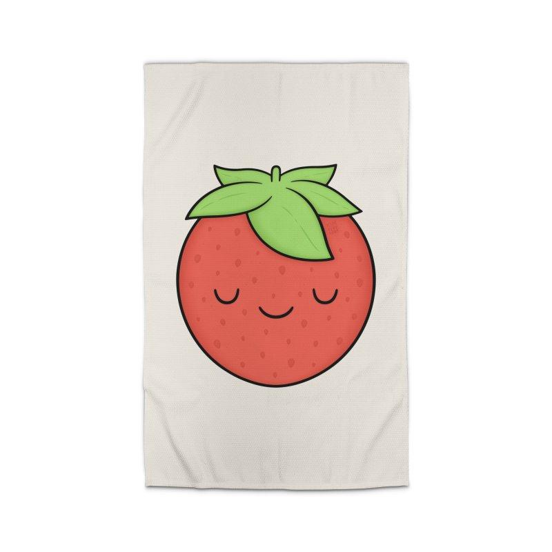 Strawberry Home Rug by Kim Vervuurt