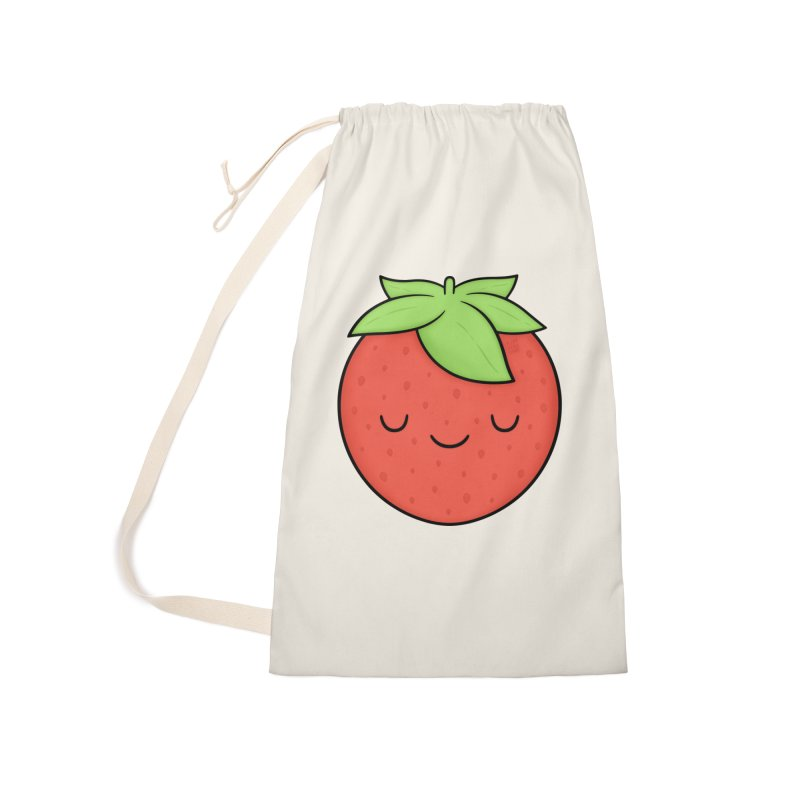 Strawberry Accessories Laundry Bag Bag by Kim Vervuurt