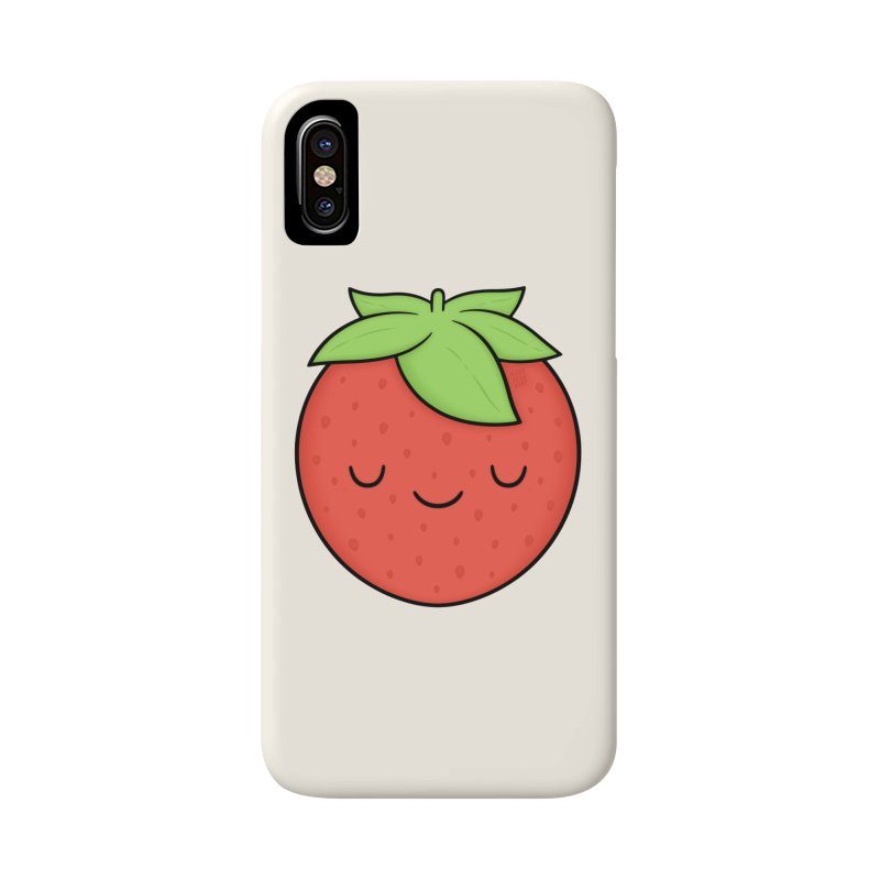 Strawberry Accessories Phone Case by Kim Vervuurt