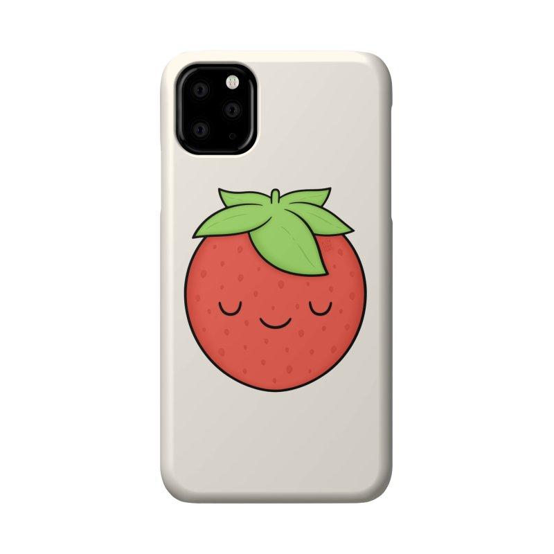 Strawberry Accessories Phone Case by Kim Vervuurt